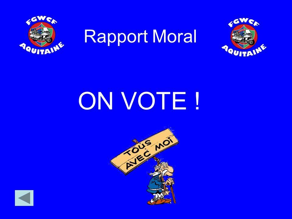 Rapport Moral ON VOTE !