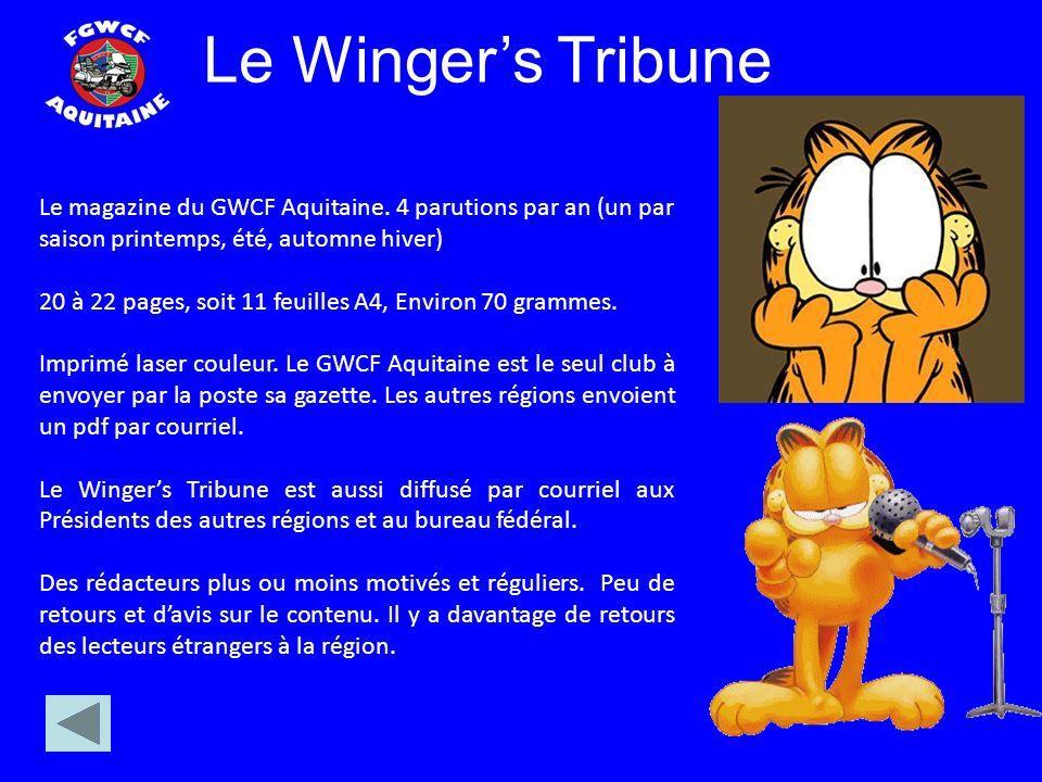 Le magazine du GWCF Aquitaine.