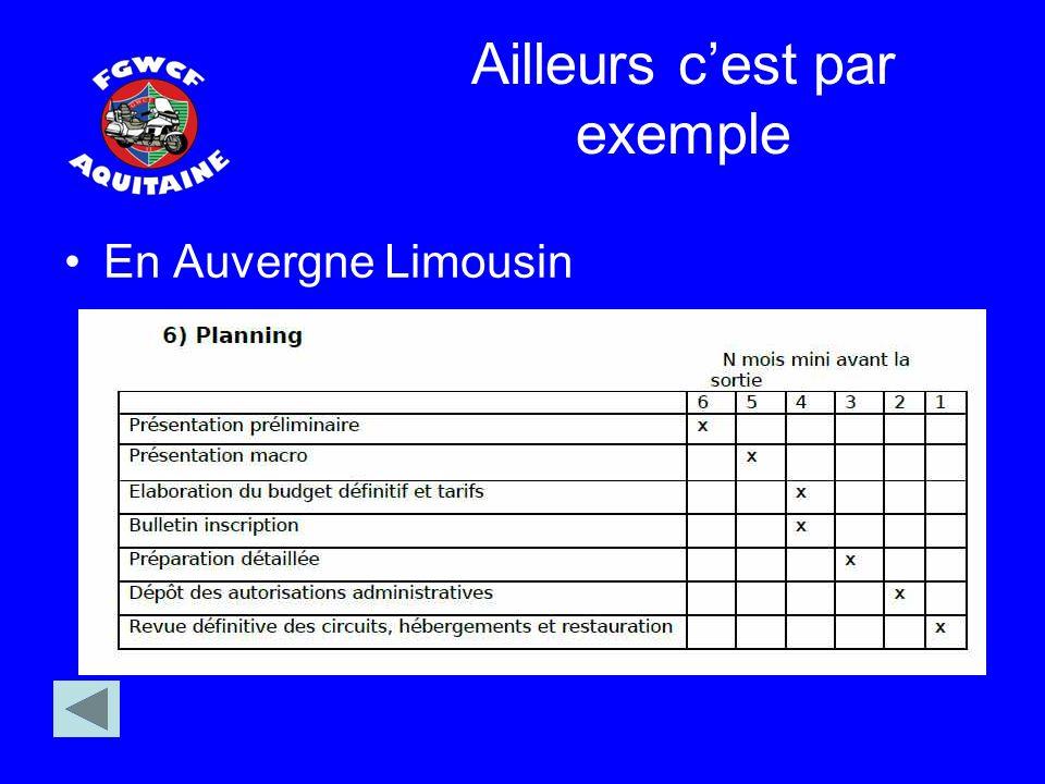 Ailleurs cest par exemple En Auvergne Limousin
