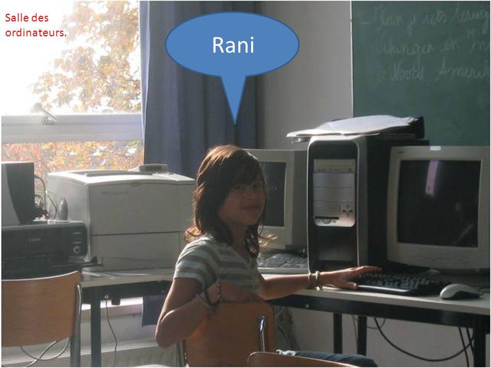Rani Salle des ordinateurs.
