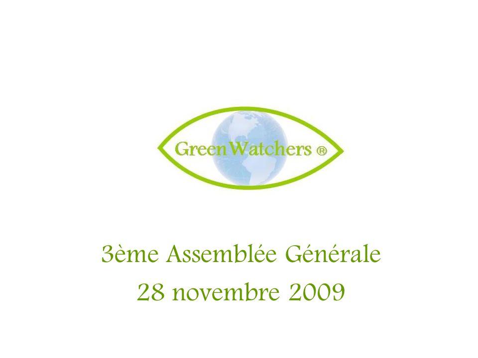 3ème Assemblée Générale 28 novembre 2009