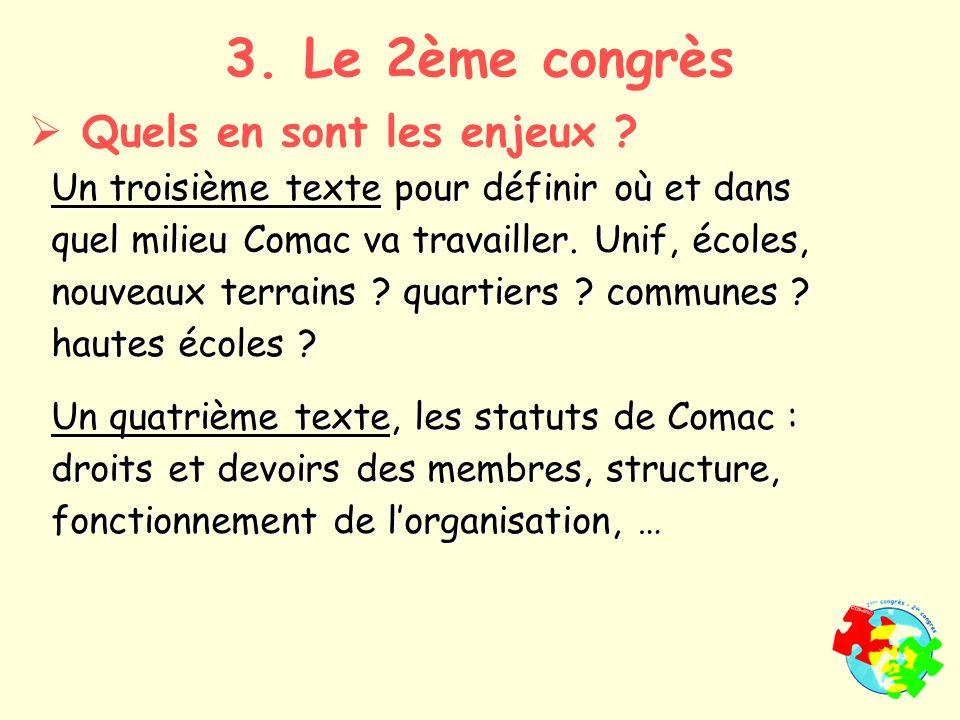 Un troisième texte pour définir où et dans quel milieu Comac va travailler.