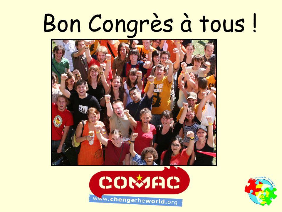 Bon Congrès à tous !