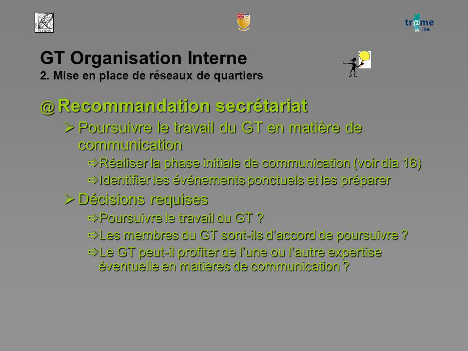 GT Organisation Interne 2.
