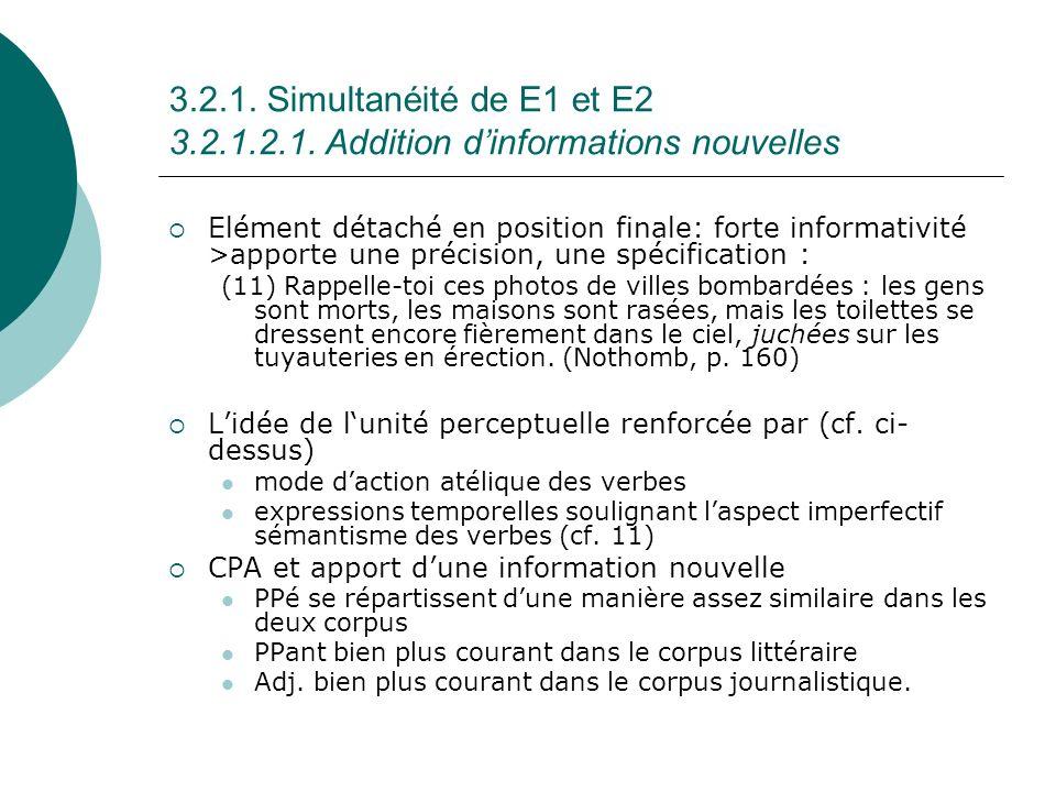 3.2.1.Simultanéité de E1 et E2 3.2.1.2.1.