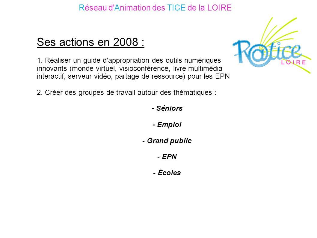 Ses actions en 2008 : 1.