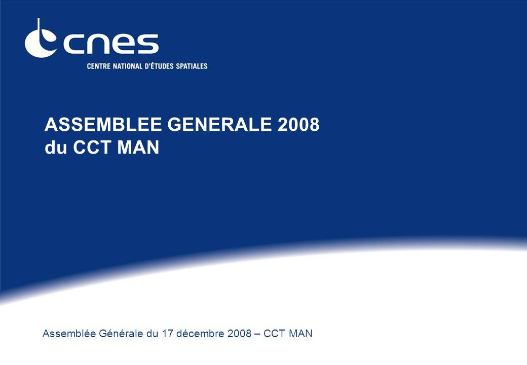 Assemblée Générale du 17 décembre 2008 – CCT MAN ASSEMBLEE GENERALE 2008 du CCT MAN
