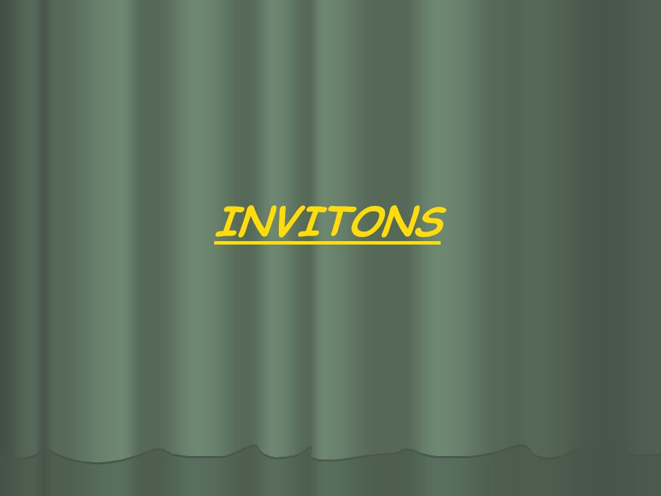 INVITONS