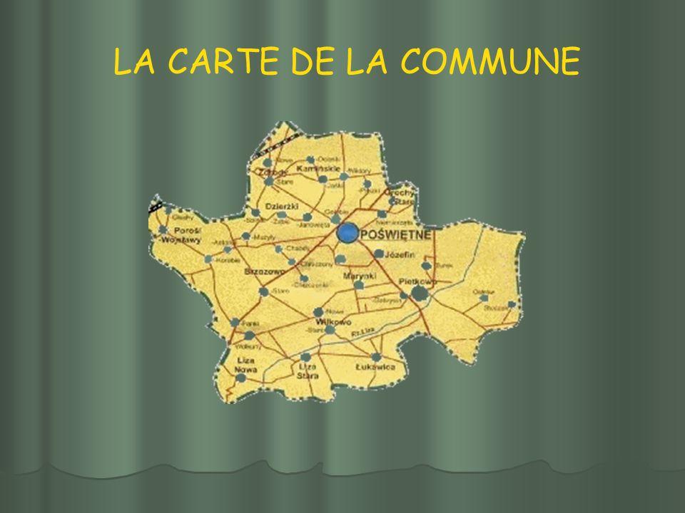 LA CARTE DE LA COMMUNE