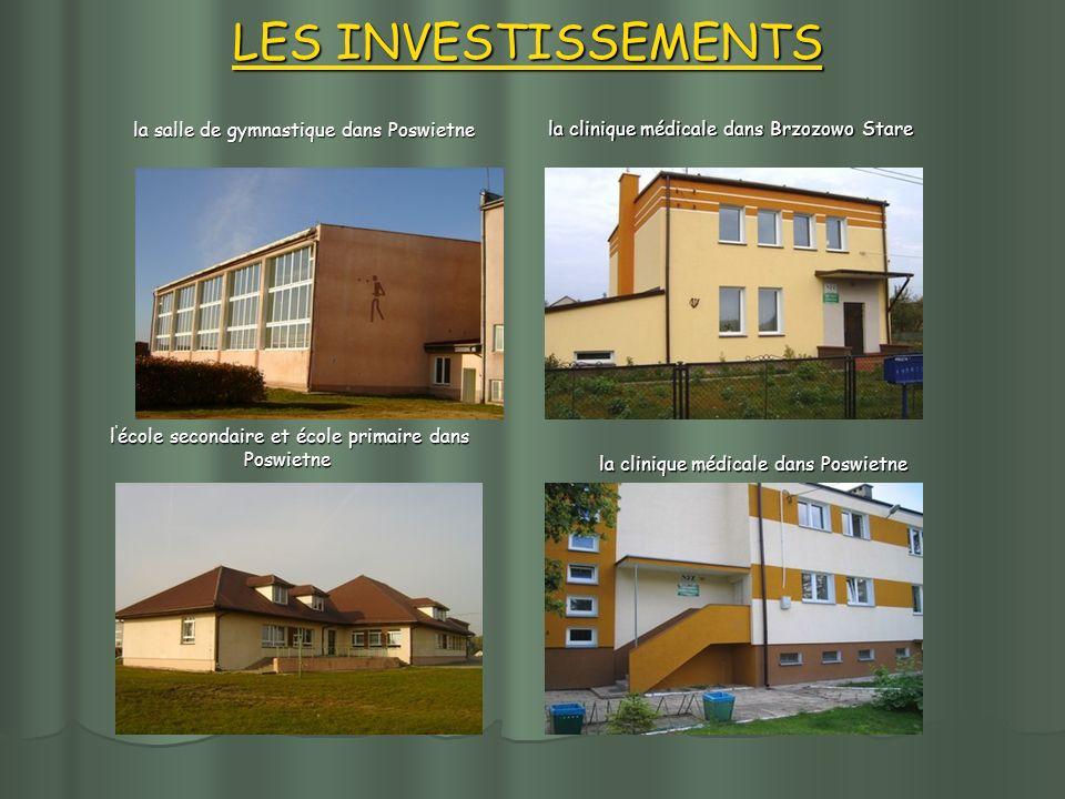 l école secondaire et école primaire dans Poswietne l école secondaire et école primaire dans Poswietne LES INVESTISSEMENTS la salle de gymnastique da