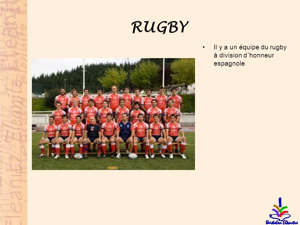 RUGBY Il y a un équipe du rugby à division d´honneur espagnole