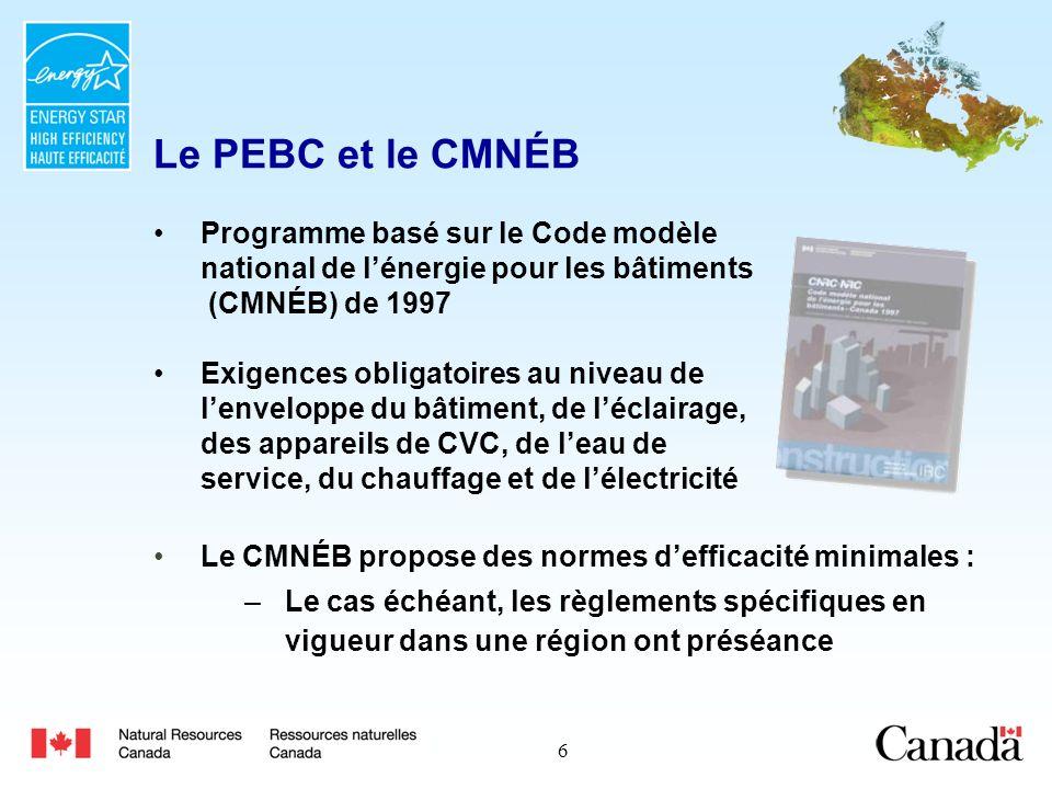 17 École de la Vérendrye (Thunder Bay) Efficacité énergétique : 47,7 % supérieure aux exigences du CMNÉB Superficie brute : 4 575 m² Économies annuelles : 44 496 $ (9,73 $/m²)