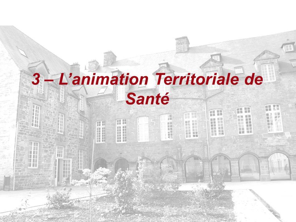 3 – Lanimation Territoriale de Santé