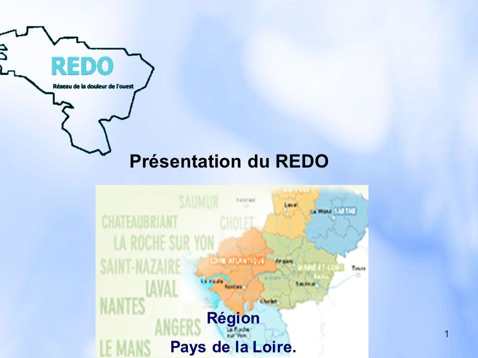 2 Associer tous les professionnels de santé des régions Pays de la Loire – Bretagne sur la prise en charge de la douleur.