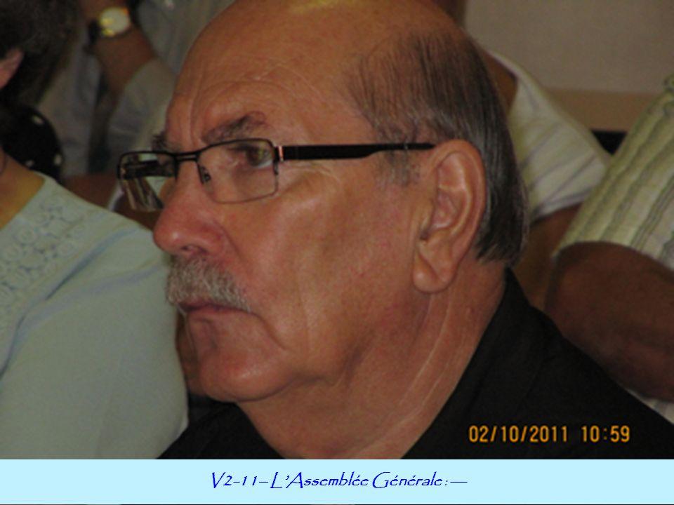 V2-11– LAssemblée Générale : ---