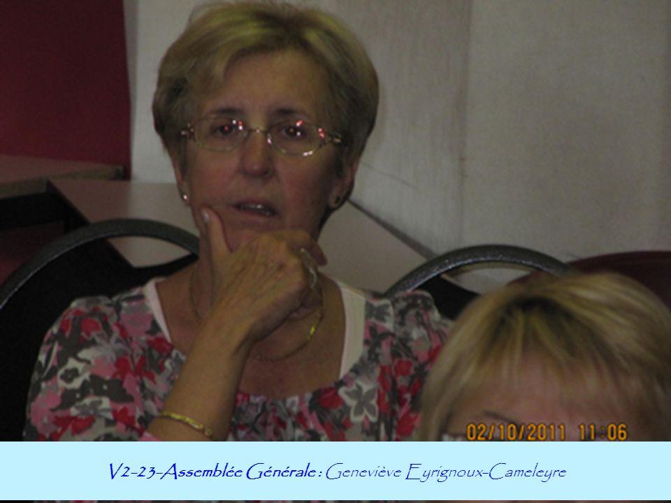 V2-23-Assemblée Générale : Geneviève Eyrignoux-Cameleyre
