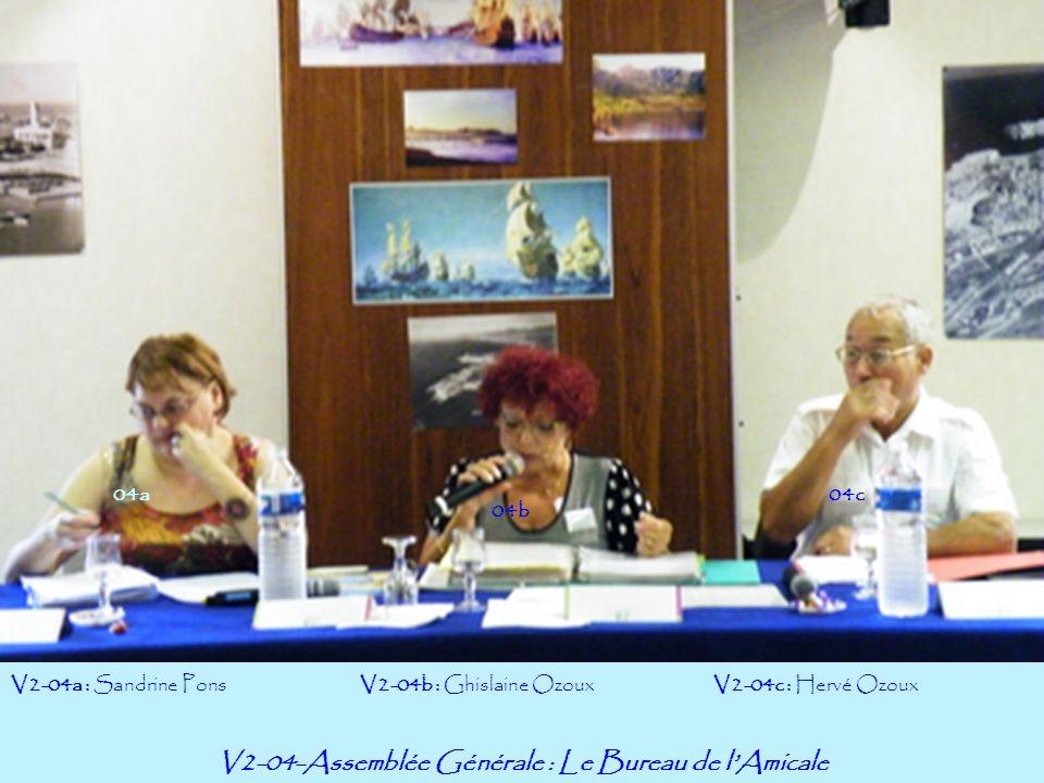 V2-15– LAssemblée Générale : Lydia Pérez-Cassisa