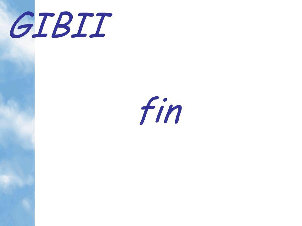 GIBII fin