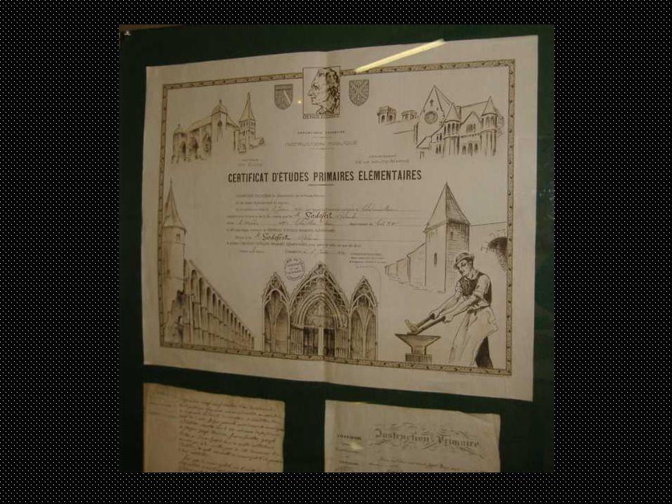 Dans lesprit de Jules Ferry, le certificat détudes primaires devait, comme son nom lindique, permettre à chaque élève de justifier lacquisition dun bagage scolaire normalisé.