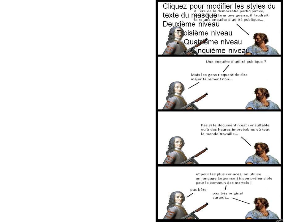 Cliquez pour modifier les styles du texte du masque Deuxième niveau Troisième niveau Quatrième niveau Cinquième niveau Nous voulons de la clarté dans la procédure