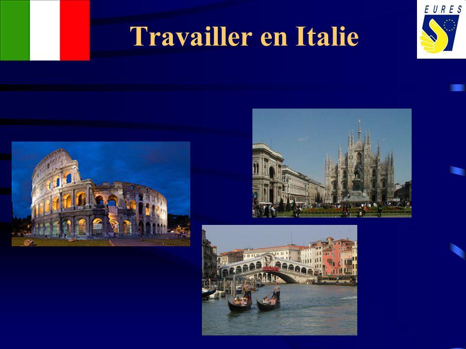 Travailler en Italie