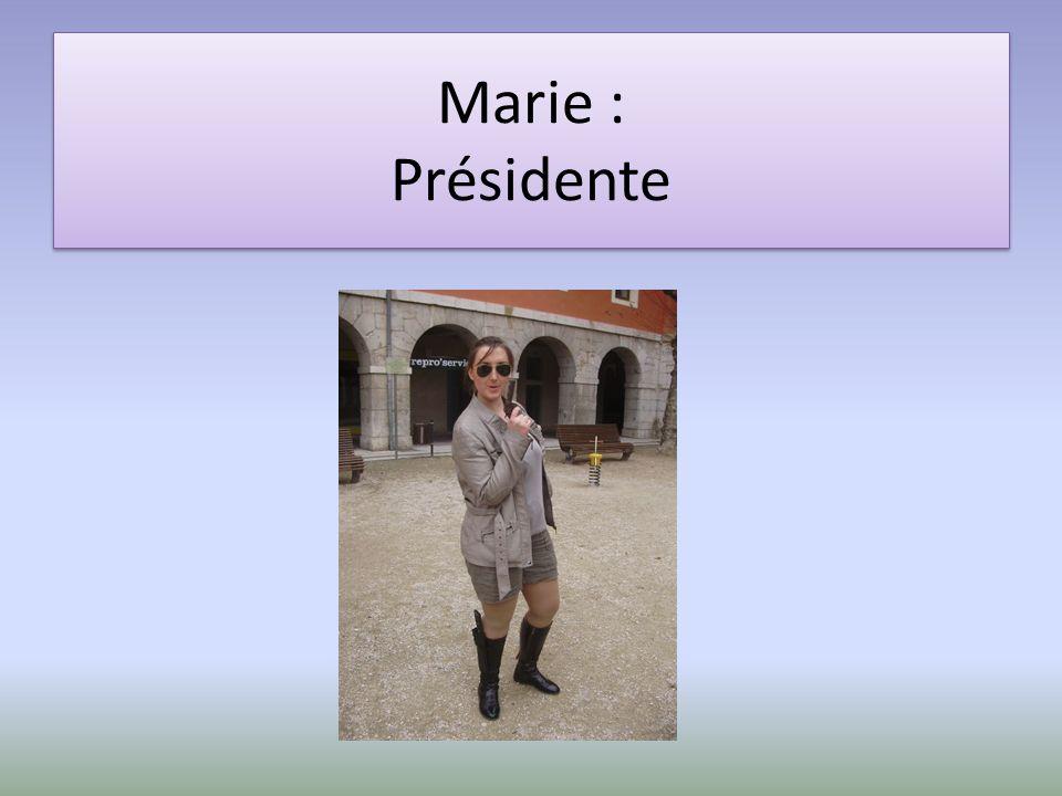 July : Vice-présidente