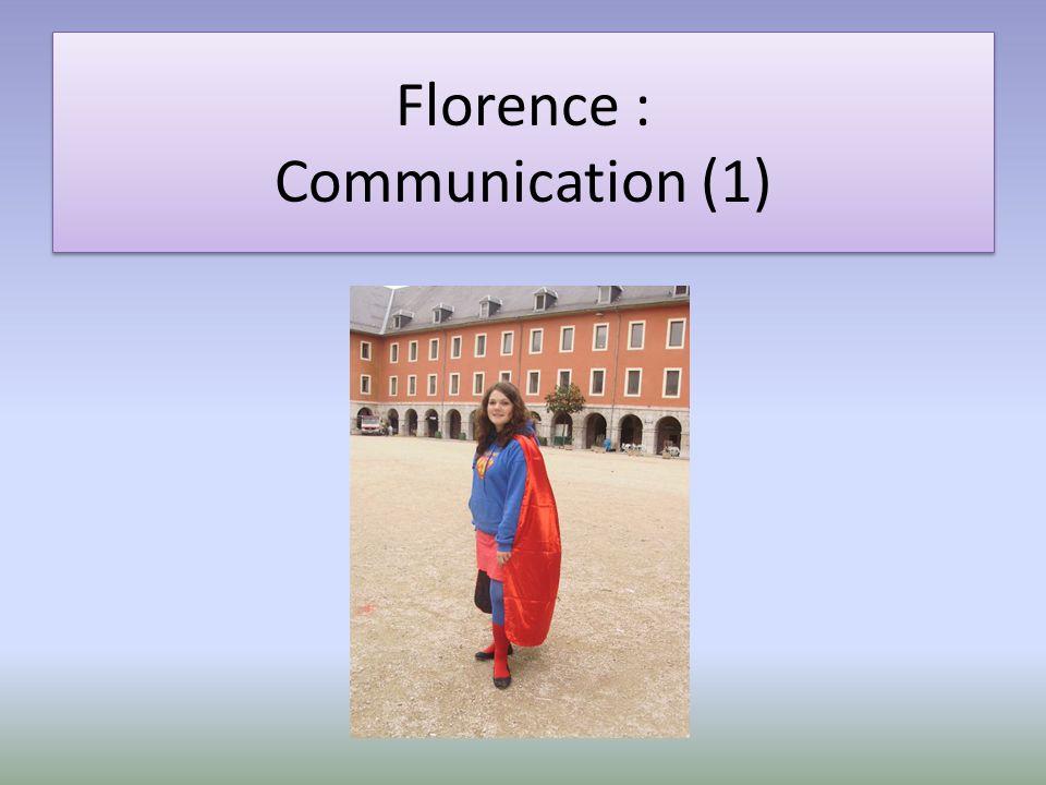 Elsa : Communication (2)