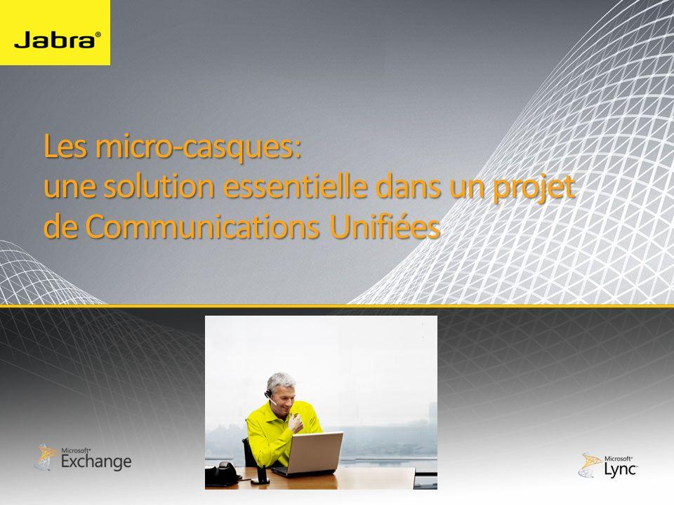 Les micro-casques: une solution essentielle dans un projet de Communications Unifiées