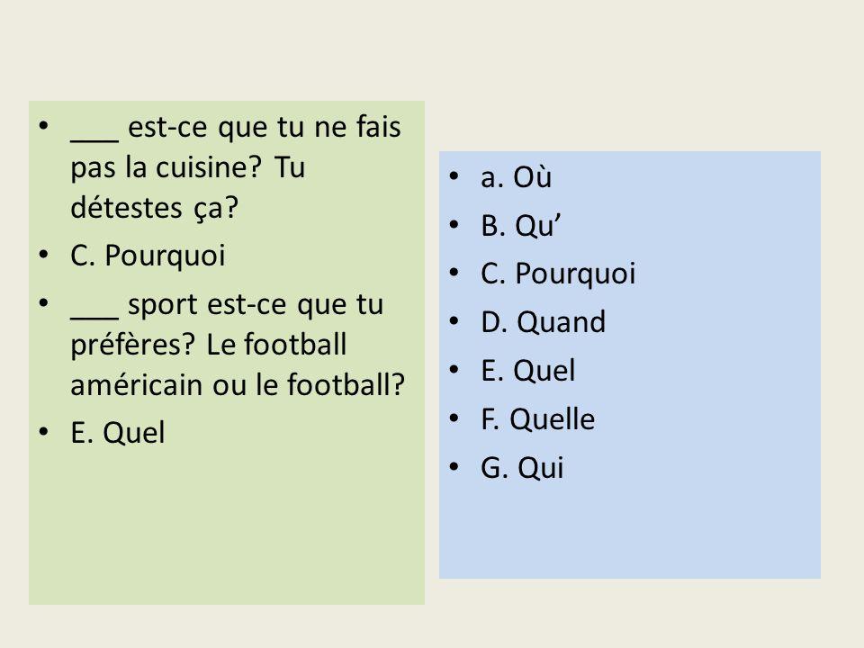 Choose the correct form of the verb.Amélie ___ de leau.
