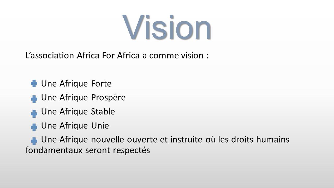 Africa For Africa, AFA Nous vous remercions pour votre attention