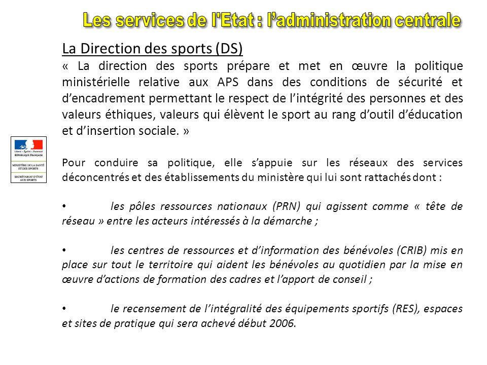 Missions Missions : Le bureau de la communication, rattaché au secrétaire dEtat chargé des Sports, élabore et met en œuvre la politique de communicati