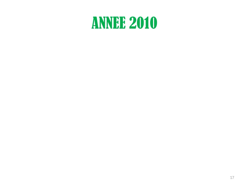 ANNEE 2010 17