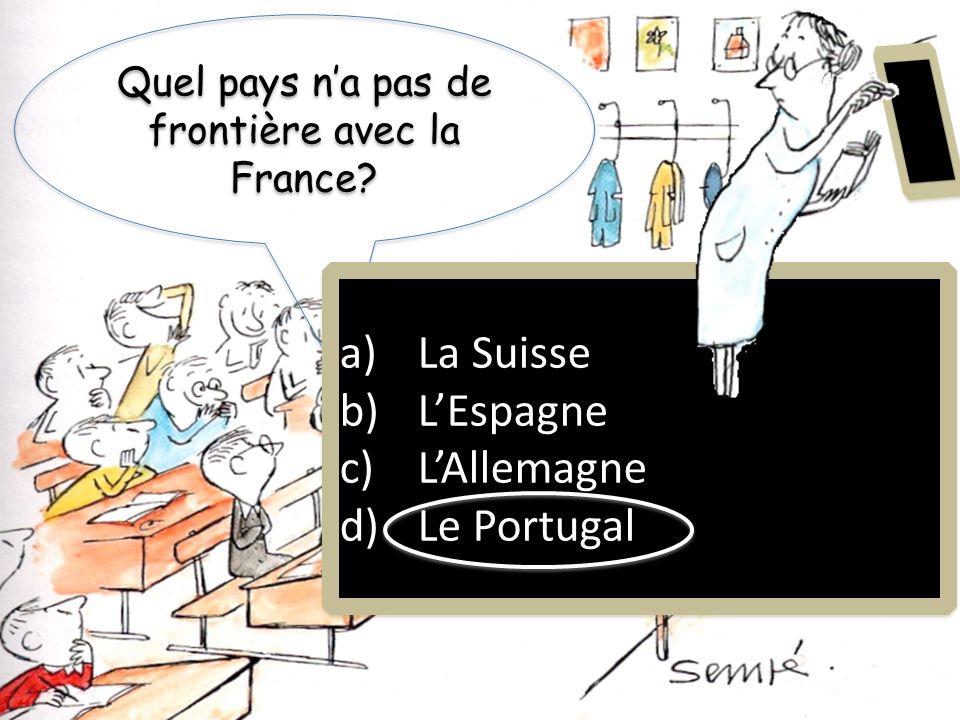 Qui est le président de la France? a)Obama b)De Gaulle c)Sarkozy d)Chirac a)Obama b)De Gaulle c)Sarkozy d)Chirac