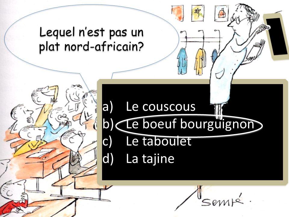 Casablanca est dans quel pays? a)Le Mali b)La Martinique c)La Mauritanie d)Le Maroc a)Le Mali b)La Martinique c)La Mauritanie d)Le Maroc