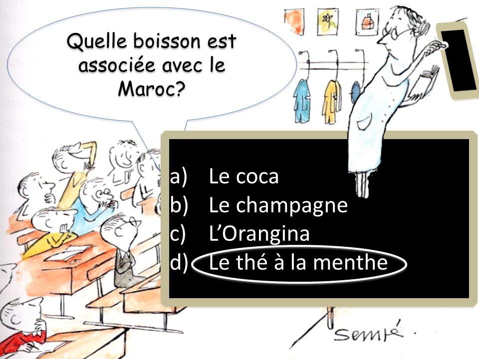 Quel pays nest pas dans le Maghreb? a) La Tunisie b) LAlgérie c) Le Canada d) Le Maroc a) La Tunisie b) LAlgérie c) Le Canada d) Le Maroc