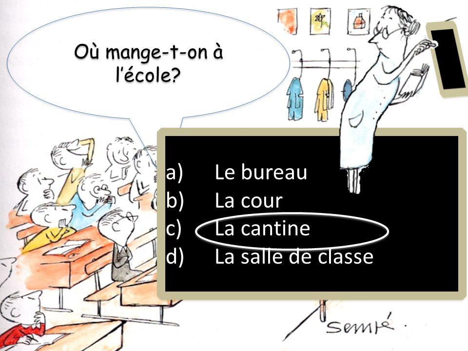 Où est-ce quon ne parle pas français? a)Guatemala b)Haïti c)Mali d)Sénégal a)Guatemala b)Haïti c)Mali d)Sénégal