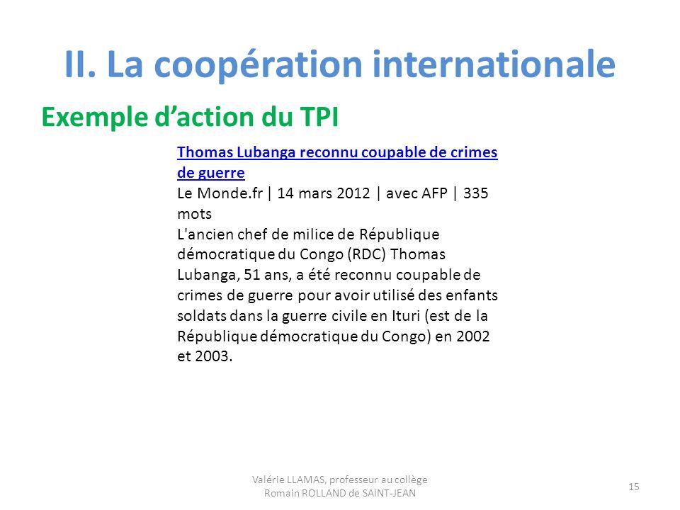 Thomas Lubanga reconnu coupable de crimes de guerre Le Monde.fr | 14 mars 2012 | avec AFP | 335 mots L'ancien chef de milice de République démocratiqu