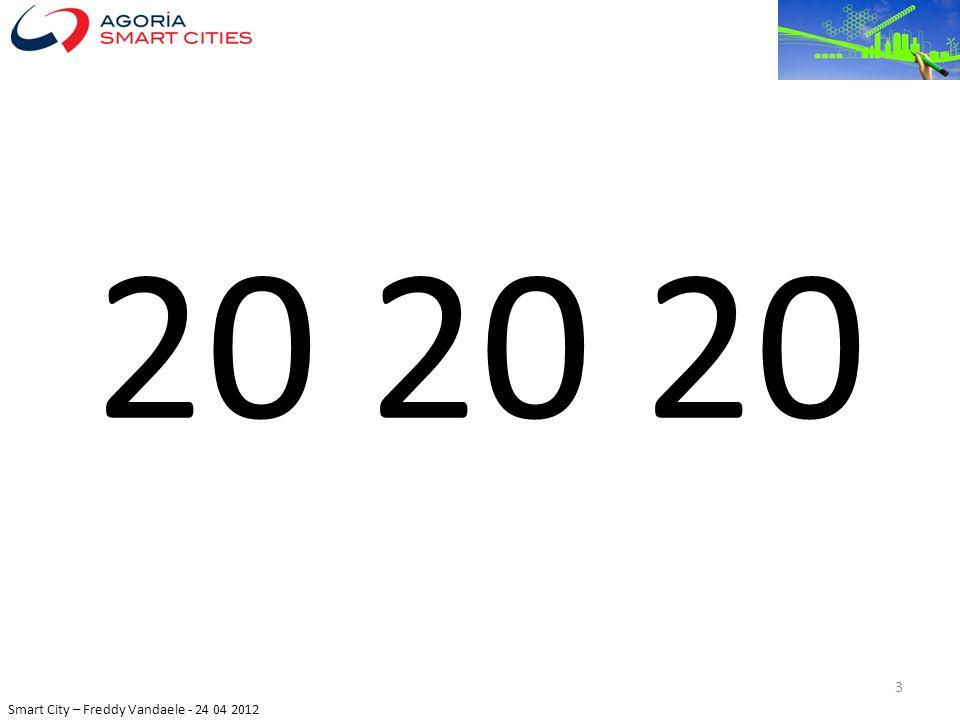 Smart City – Freddy Vandaele - 24 04 2012 EU: 75% 4