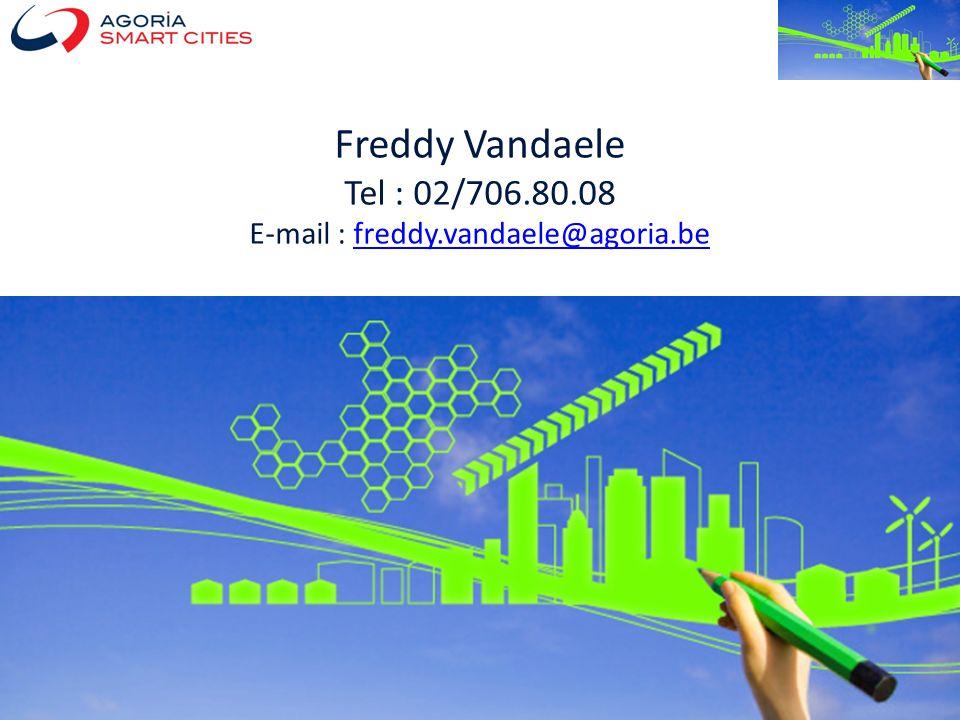 Smart City – Freddy Vandaele - 24 04 2012 Freddy Vandaele Tel : 02/706.80.08 E-mail : freddy.vandaele@agoria.befreddy.vandaele@agoria.be
