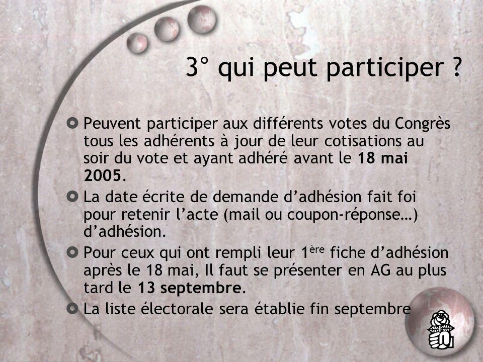 13° La section Unité de base du PS, cest le lieu où se réunissent les adhérents et où ils votent pour élire : Le(la) secrétaire de section élu au scrutin majoritaire le 23 novembre avec un deuxième tour le 24 novembre, sil y a plusieurs candidats.