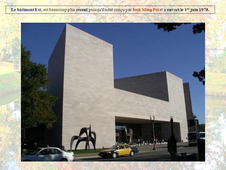 La National Gallery of Art (NGA) est l un des plus importants musées de Washington, Elle a été fondée par le Congrès américain en 1937, grâce aux donations d Andrew Mellon.