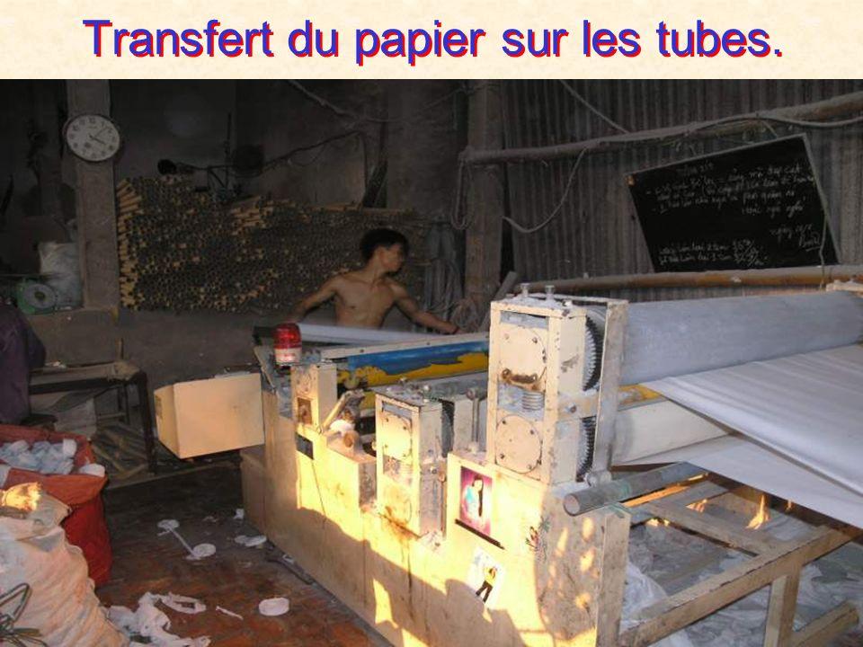 Préparation des tubes