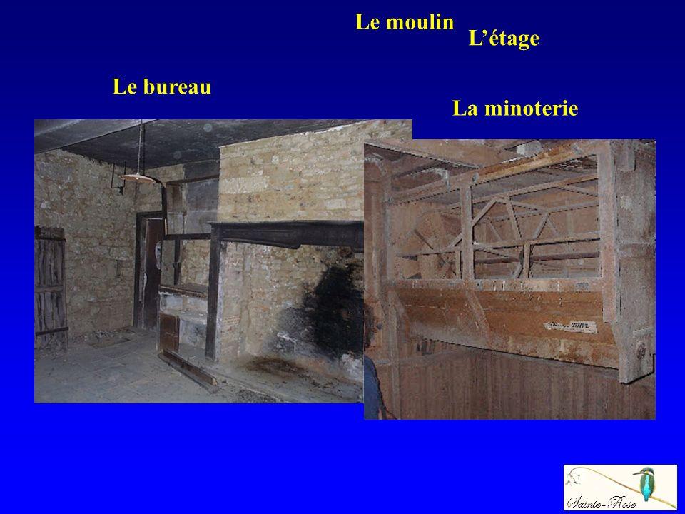Sainte-Rose Le moulin Létage La minoterie Le bureau