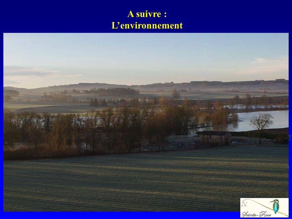 A suivre : Lenvironnement Sainte-Rose