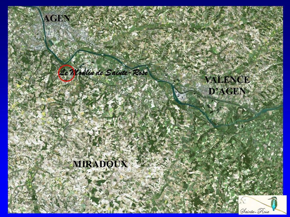 MONTAUBAN TOULOUSE AGEN Le Moulin de Sainte-Rose Sainte-Rose VALENCE DAGEN MIRADOUX