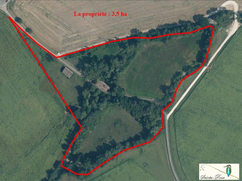 AGEN VALENCE DAGEN Le Moulin de Sainte-Rose MIRADOUX LArrats Sainte-Rose La propriété : 3,5 ha