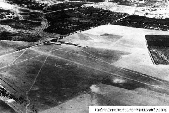 Laérodrome de Mascara-Saint André (SHD)