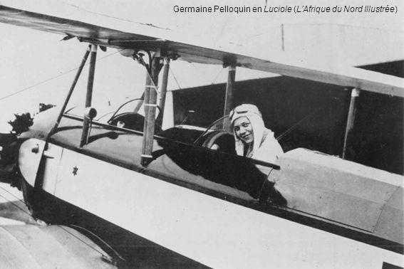 Germaine Pelloquin en Luciole (LAfrique du Nord Illustrée)