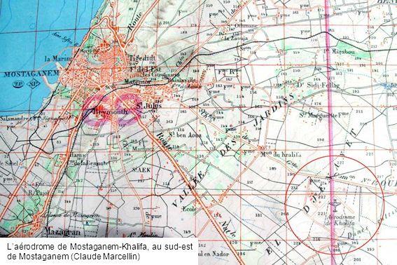 Laérodrome de Mostaganem-Khalifa, au sud-est de Mostaganem (Claude Marcellin)
