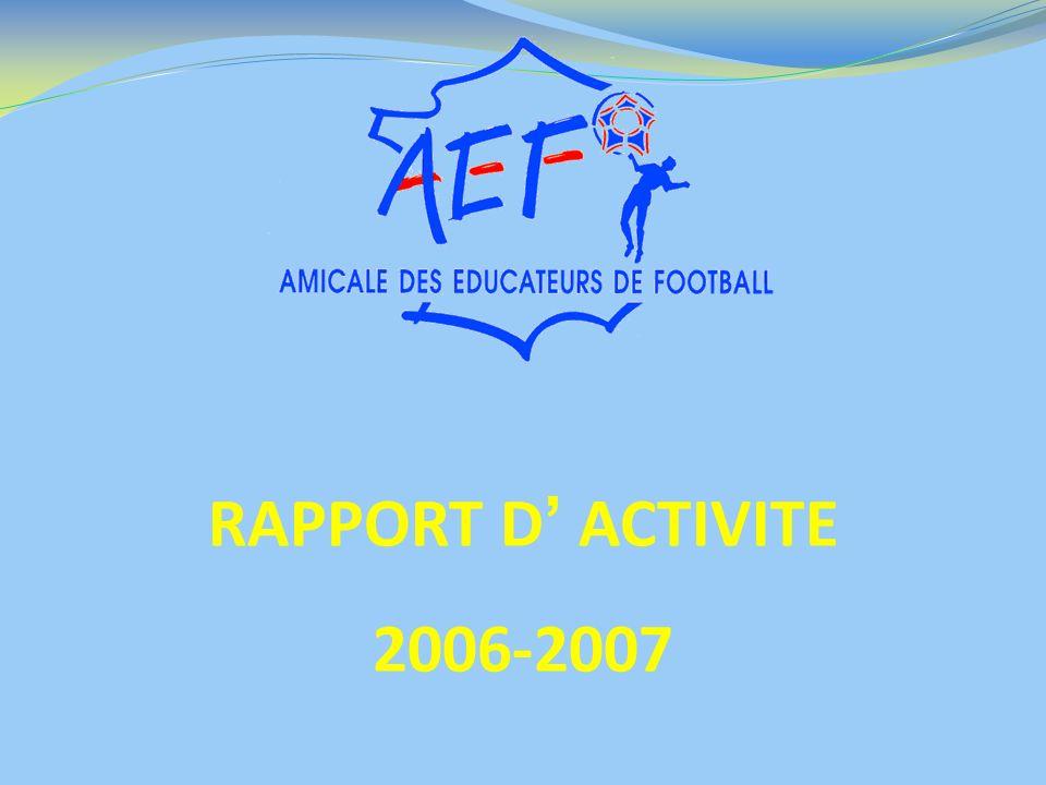 RAPPORT D ACTIVITE 2006-2007